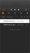 Vox application window