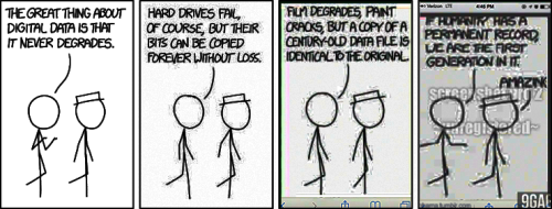 XKCD cartoon, Digital Data, enhanced